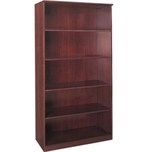 Corsica & Napoli Bookcase with 4 Shelves