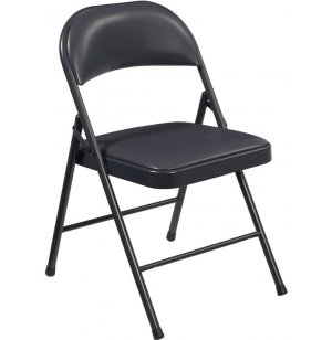 Commercialine Vinyl-Padded Folding Chair