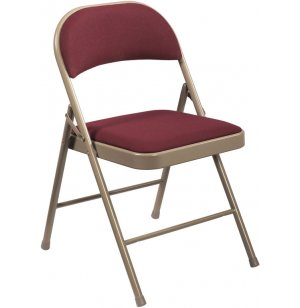 Commercialine Fabric-Padded Folding Chair