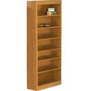 Reinforced Shelf Laminate Bookcase with 5 Shelves