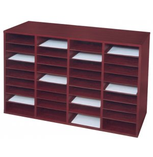 36-Compartment Literature Organizer
