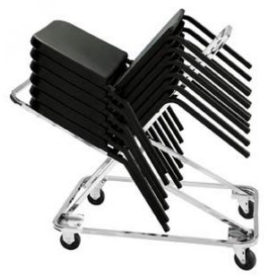 Chair Dolly-Stacks up to 18 Melody Music Chairs