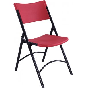 Blow Molded Folding Chair, Colored