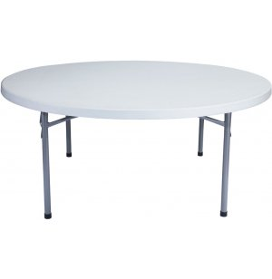 Round Blow Molded Table