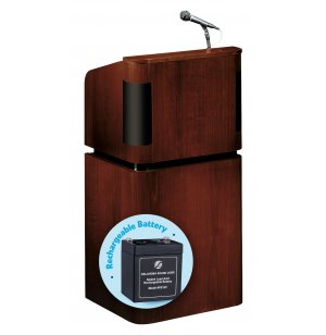 Veneer Sound Lectern - Wireless Mic, Rechargeable Battery