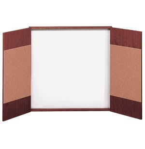 Wood Veneer Presentation Cabinet Closeout