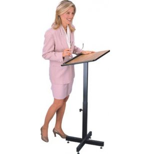 Height Adjusting Portable Podium