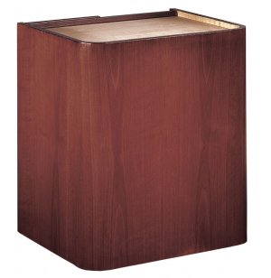 Wood Veneer Lectern Base Closeout