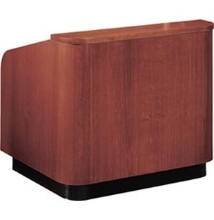 Wood Veneer Table Top Lectern Closeout