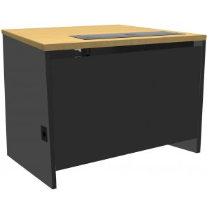 46-Series Computer Desk with Trolley Monitor Lift