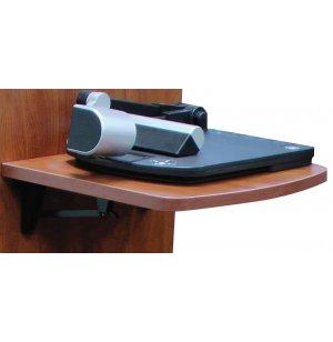 Flip-Up Shelf Left for AV Lectern