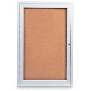Outdoor Enclosed Cork Board