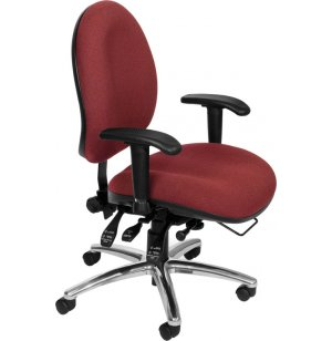24 Hour Big and Tall Task Chair, Fabric