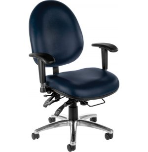 24 Hour Big and Tall Task Chair, Vinyl