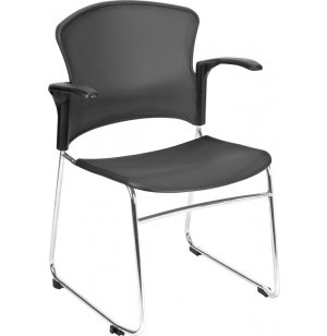 OFM Plastic Stacking  Armchair
