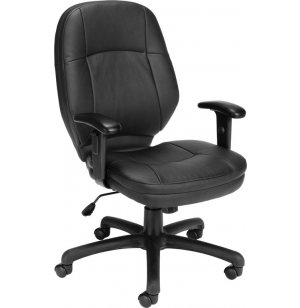 Stimulus Series Leatherette Task Chair w/ Arms