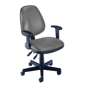 OFM Vinyl Task Office Chair w/Arms