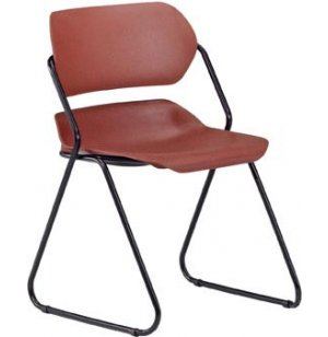 Contour Stack Chair with Sled Base from OFM