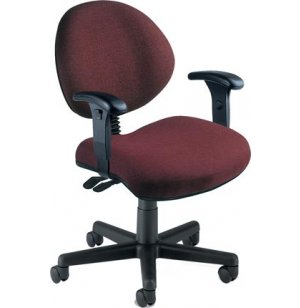 Multi-Shift Office Chair with Adjustable Arms