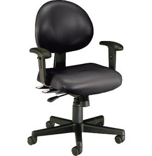 Multi-Shift Task Office Chair- Adjustable Arms