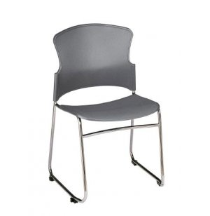OFM Plastic Stacking Chair