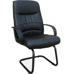 Executive Leatherette Guest Chair