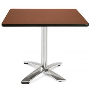 Square Flip-Top Cafe Table Dining Height