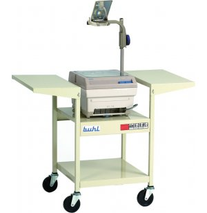 Sit Down Steel Projector Cart