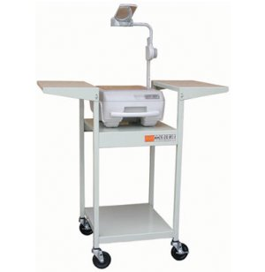 Stand Up Steel Projector Cart