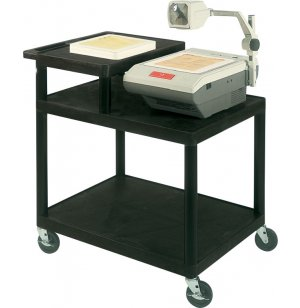 Endura AV Cart with Worksurface
