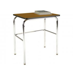 Basic School Desk - Laminate Top, U Brace