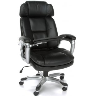 ORO High-Back Body Bolster Bonded Leather Executive Chair