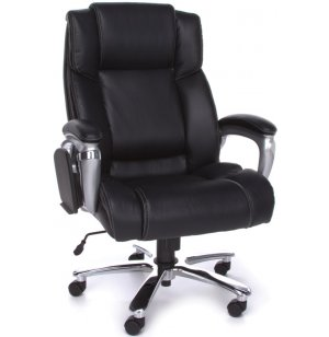 ORO Big and Tall Executive Leather Office Chair