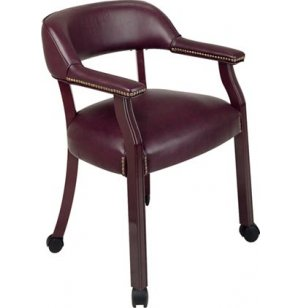 Traditional Captain Chair w/Casters