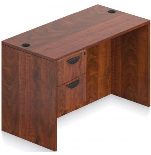 Laminate Single Pedestal Office Desk