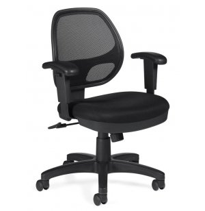 Mesh-back Synchro-Tilter Office Chair