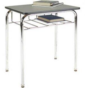 Open View School Desk - Laminate Top