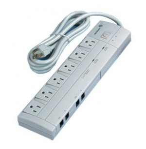 6-Outlet Surge/Phone Jack, UL approved
