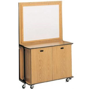 FREEstanding Mobile Cabinet with Whiteboard