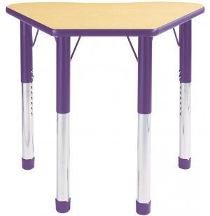 Colored Petal Classroom Desk