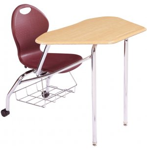 Unity Petal Collaborative Combo Desk with Casters