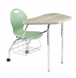 Unity Petal Collaborative Combo Desk - Laminate, w/ Casters