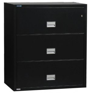 3-Drawer Lateral Fire File, 38