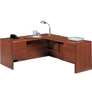 L-Shape Executive Office Desk- R Return & Tray
