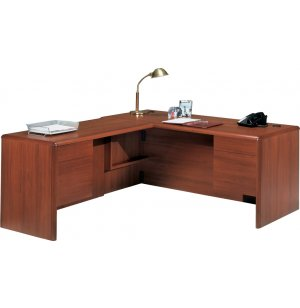 L-Shape Executive Office Desk- L Return & Tray