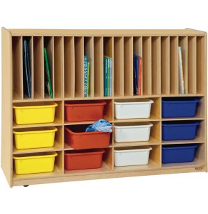 Portfolio Storage Center with 12 Assorted Trays