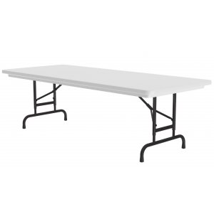 Classic Top Folding Table-Adj Height