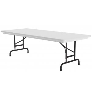 Classic Top Folding Table-Adj Height