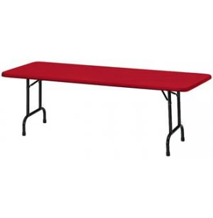 Rectangular Color Top Folding Table