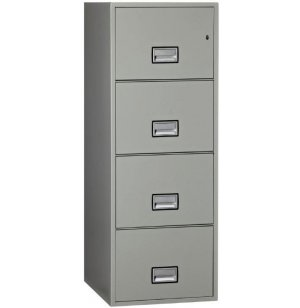 4-Drawer Vertical Fire File, 25